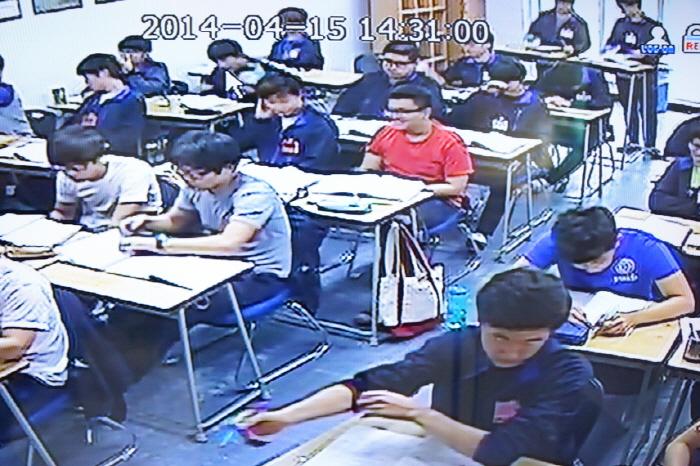 CCTV 수업모습
