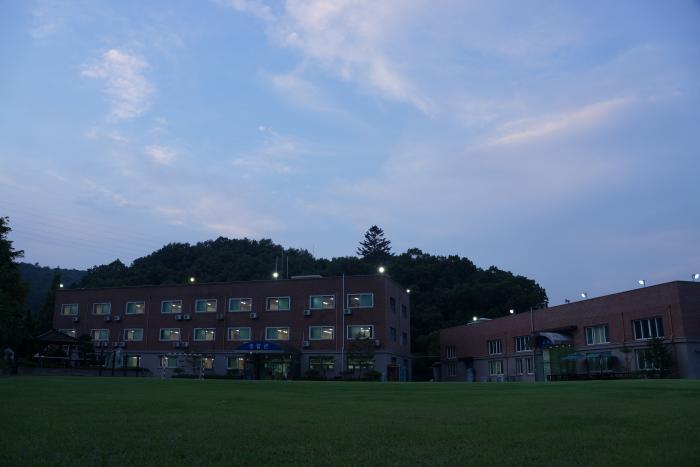 교육관,2생활관 야경
