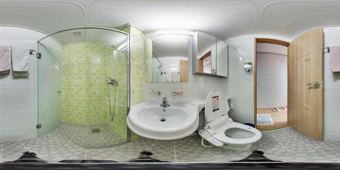 숙소 화장실
